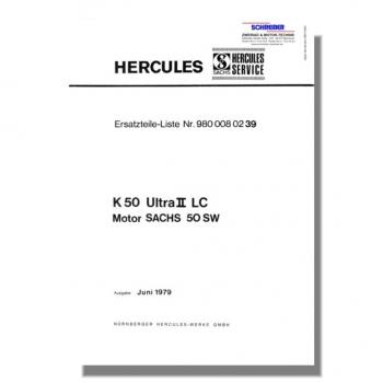 schreiber ersatzteilliste hercules k50. Black Bedroom Furniture Sets. Home Design Ideas